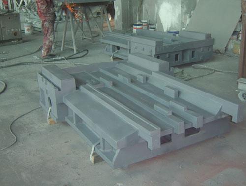 数控机床铸件,大型床身铸件